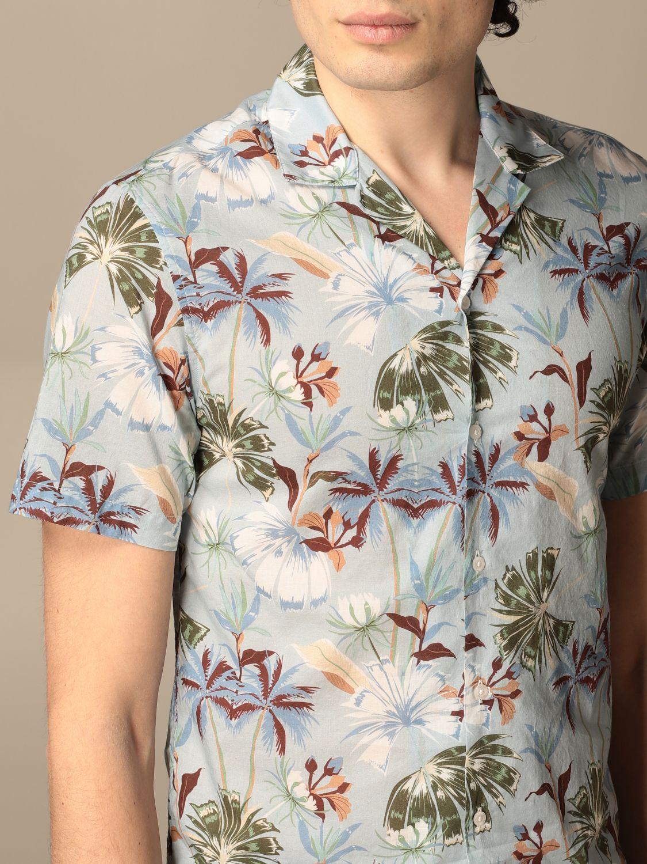 Camicia Altea: Camicia Altea in cotone a fantasia cielo 3