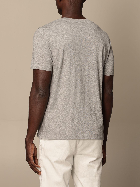 T-shirt Altea: T-shirt Altea in cotone grigio 2