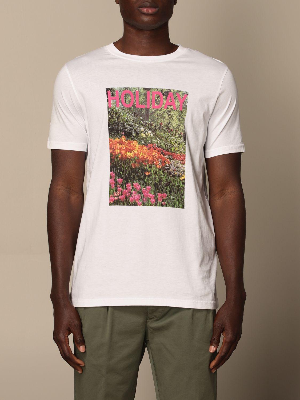 T-shirt Altea: T-shirt homme Altea blanc 1