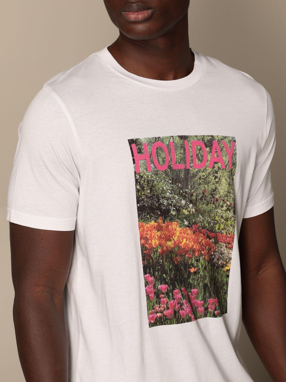 T-shirt Altea: T-shirt homme Altea blanc 3
