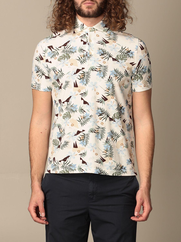 Polo shirt Altea: Polo shirt men Altea white 1