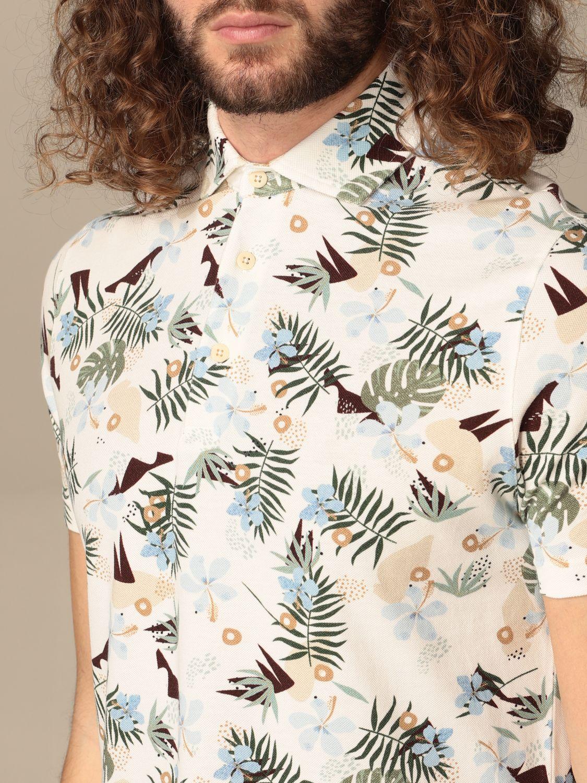Polo shirt Altea: Polo shirt men Altea white 3