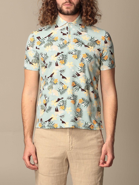Polo shirt Altea: Polo shirt men Altea green 1