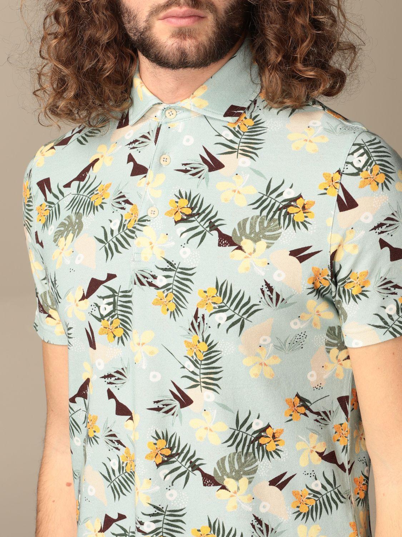 Polo shirt Altea: Polo shirt men Altea green 3