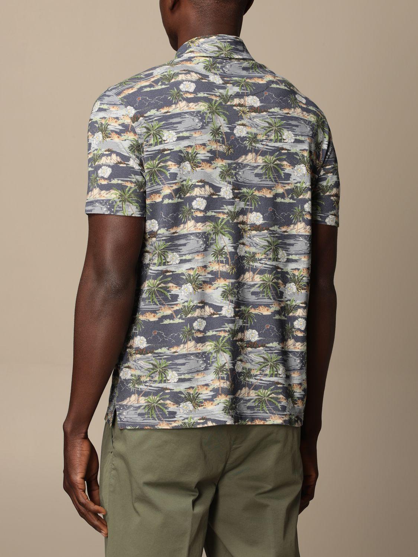 Polo shirt Altea: Polo shirt men Altea blue 2