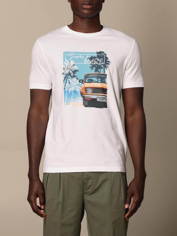 T-shirt Altea: T-shirt Altea in cotone con stampa bianco 1 1