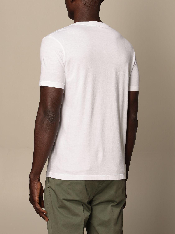 T-shirt Altea: T-shirt Altea in cotone con stampa bianco 1 2