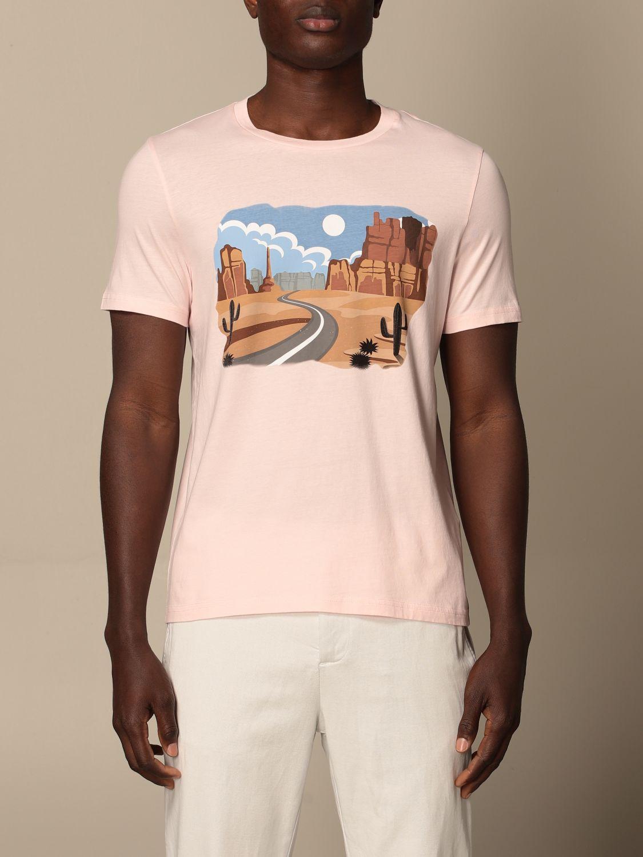 T-shirt Altea: T-shirt homme Altea rose 1