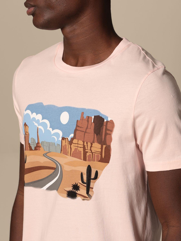 T-shirt Altea: T-shirt homme Altea rose 3