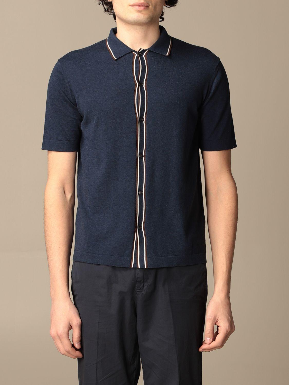 Shirt Altea: Shirt men Altea blue 1