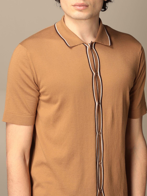 Shirt Altea: Shirt men Altea camel 3