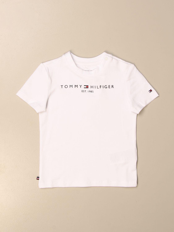 Camiseta Tommy Hilfiger: Camiseta niños Tommy Hilfiger blanco 1