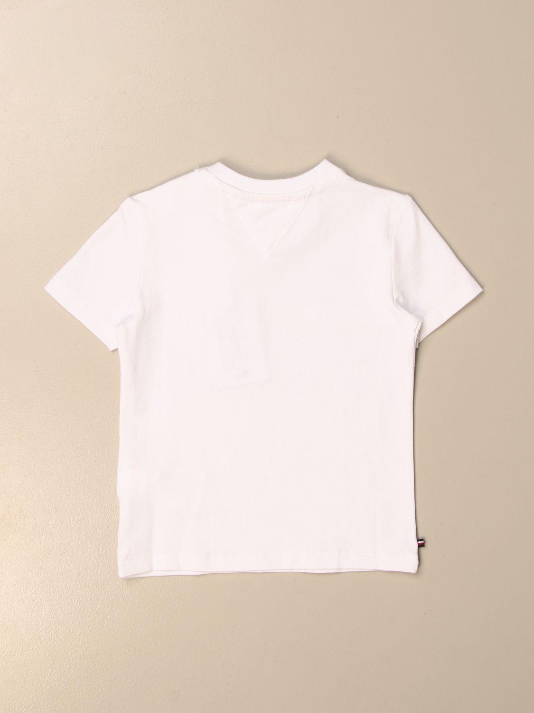 Camiseta Tommy Hilfiger: Camiseta niños Tommy Hilfiger blanco 2