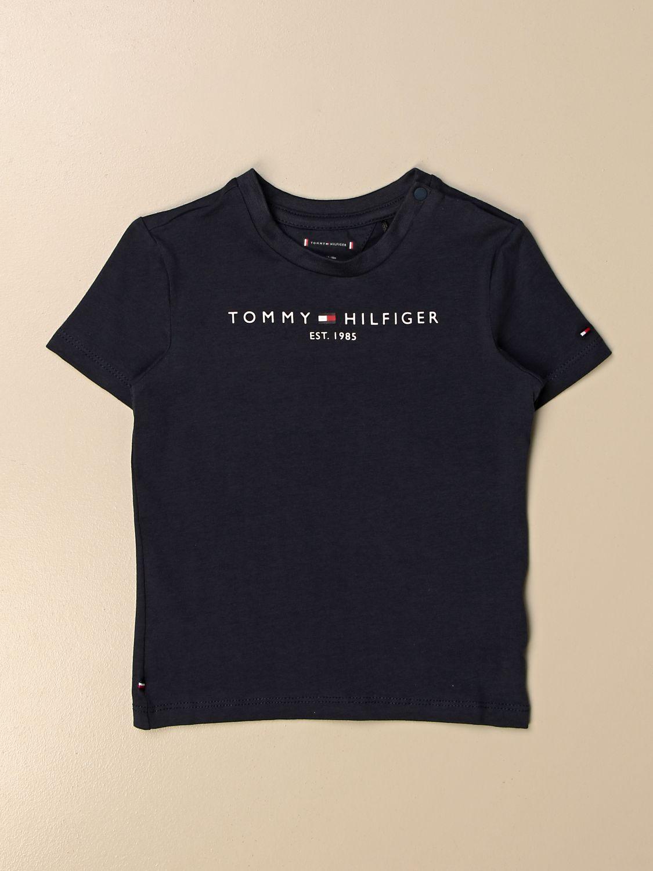 Camiseta Tommy Hilfiger: Camiseta niños Tommy Hilfiger azul marino 1