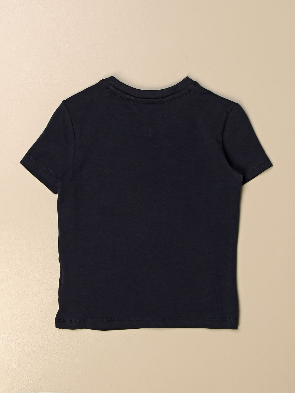 Camiseta Tommy Hilfiger: Camiseta niños Tommy Hilfiger azul marino 2