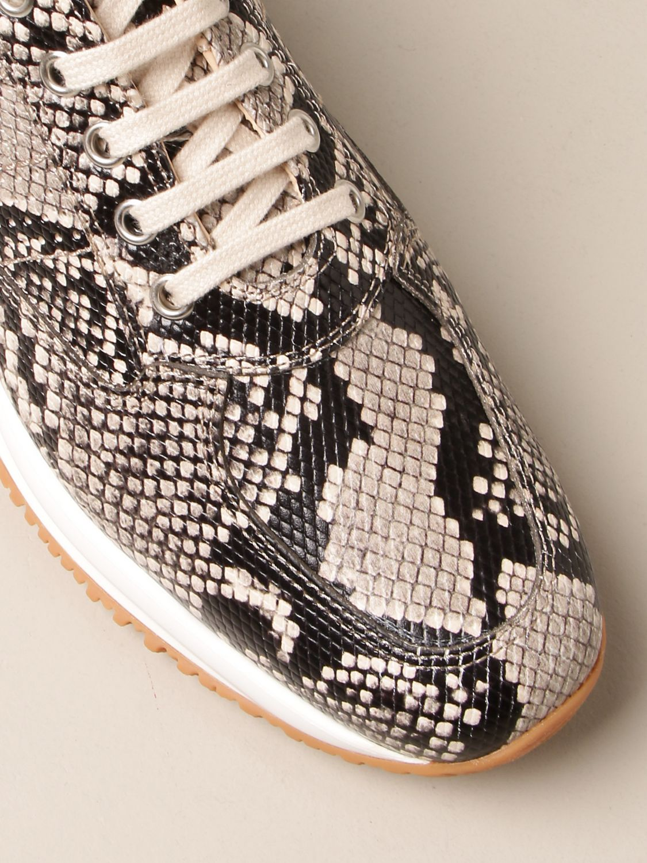 Sneakers Interactive Hogan in pelle con stampa pitone
