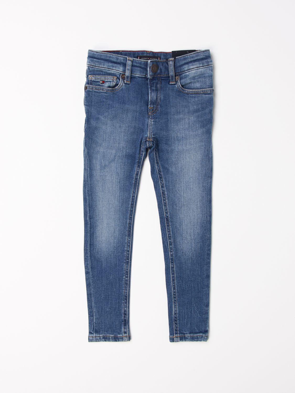 Jeans Tommy Hilfiger: Pantalon enfant Tommy Hilfiger bleu 1