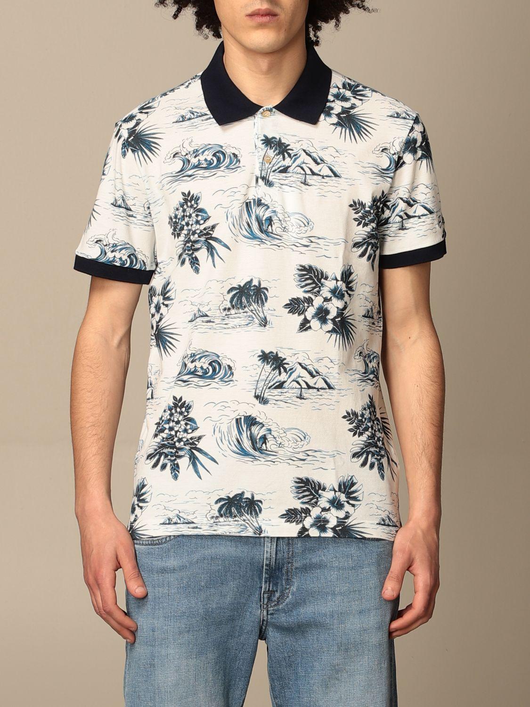 Polo shirt Brooksfield: Jumper men Brooksfield white 1