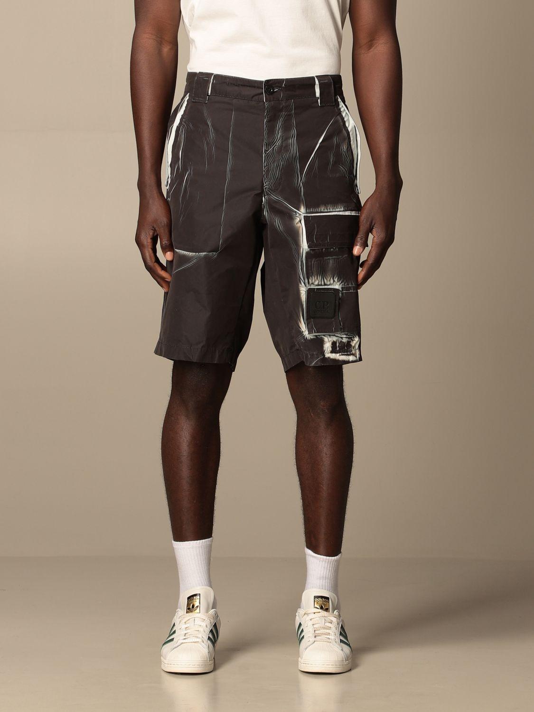 Pantalones cortos C.p. Company: Pantalones cortos hombre C.p. Company negro 1