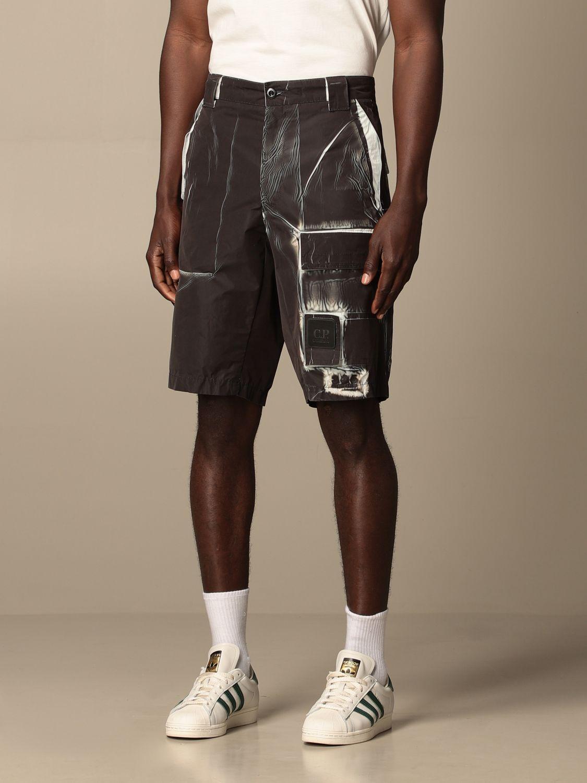 Pantalones cortos C.p. Company: Pantalones cortos hombre C.p. Company negro 3