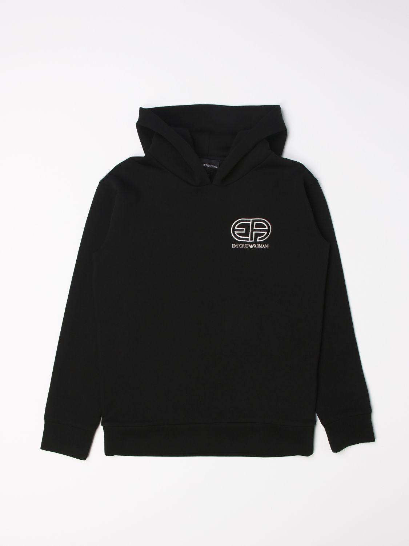 毛衣 Emporio Armani: 毛衣 儿童 Emporio Armani 黑色 1
