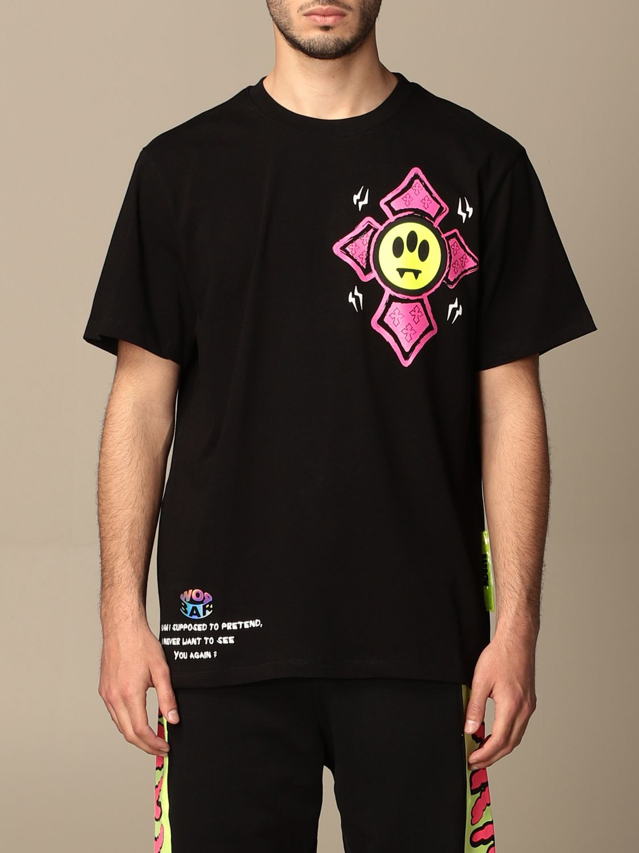 T-shirt Barrow: T-shirt Barrow in cotone con multi stampe nero 1
