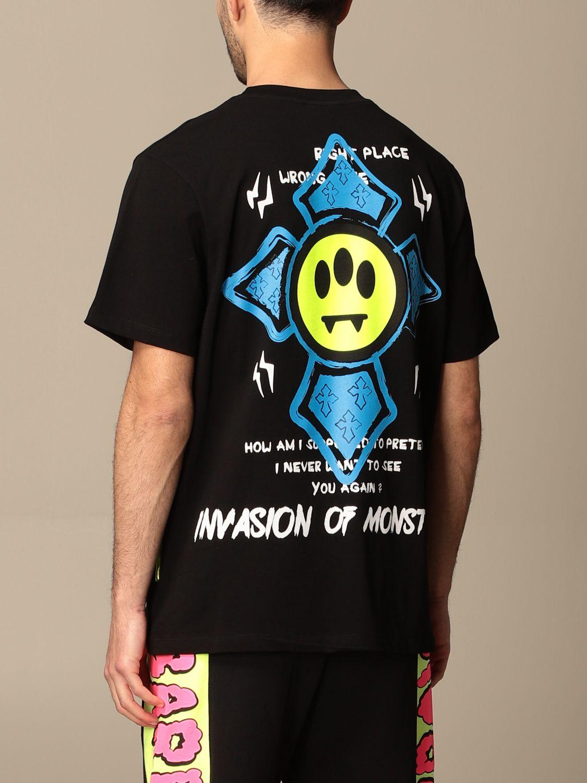 T-shirt Barrow: T-shirt Barrow in cotone con multi stampe nero 2