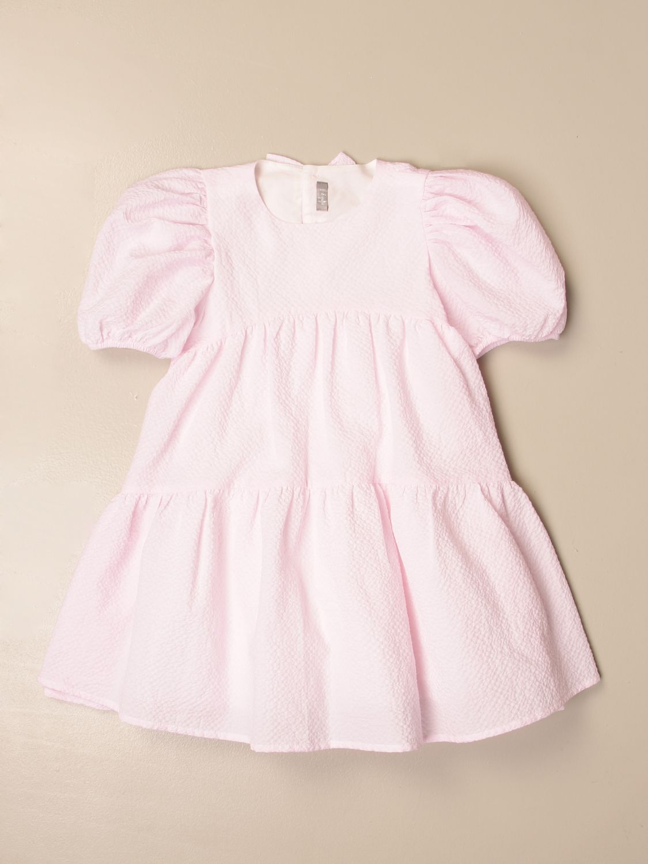 Vestido Il Gufo: Vestido niños Il Gufo rosa 1
