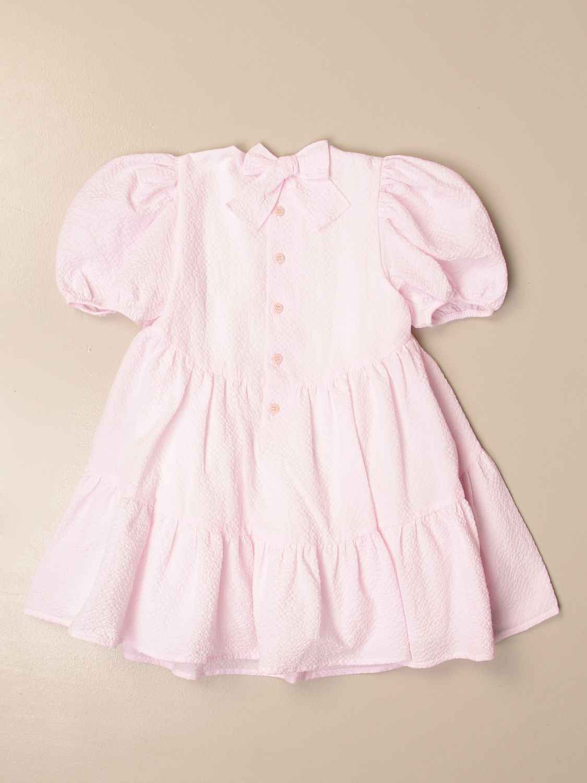 Vestido Il Gufo: Vestido niños Il Gufo rosa 2