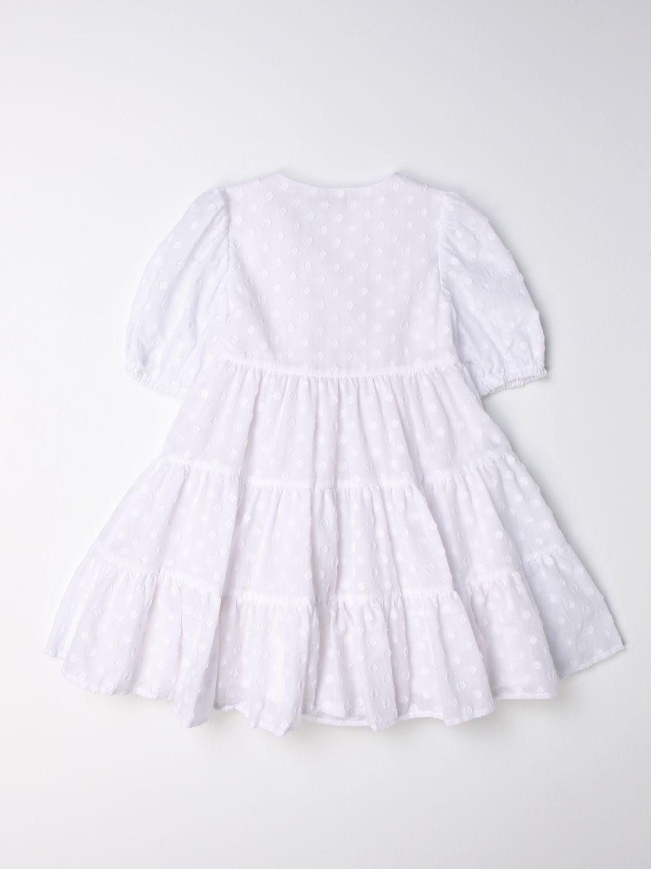 Robe Il Gufo: Robe enfant Il Gufo blanc 2