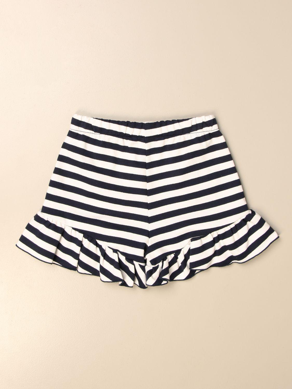 Pantalones cortos Alberta Ferretti Junior: Pantalones cortos niños Alberta Ferretti Junior azul oscuro 2
