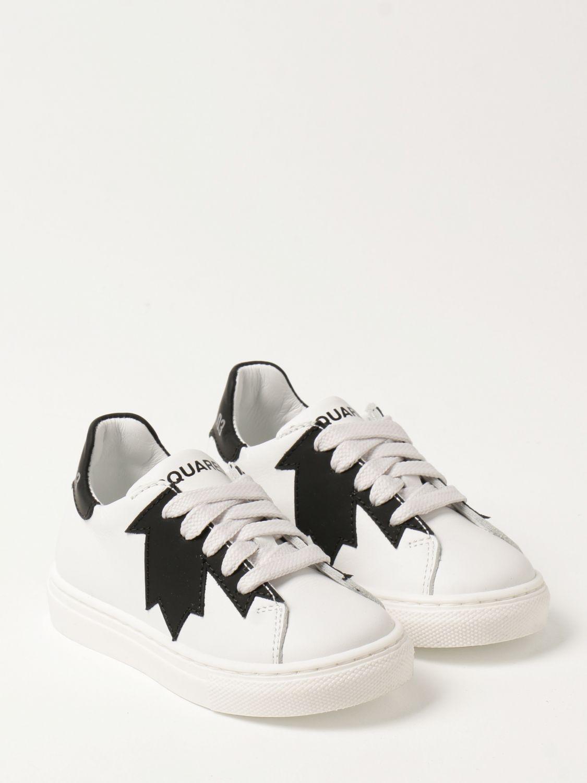 Обувь Dsquared2 Junior: Обувь Детское Dsquared2 Junior белый 2