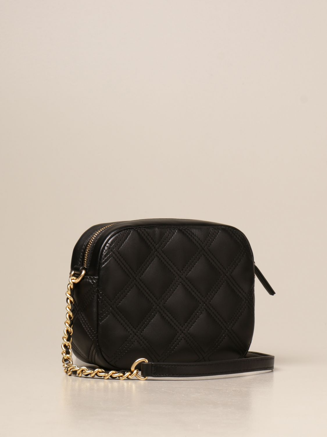 Crossbody bags Tory Burch: Feming Tory Burch bag in quilted leather black 2