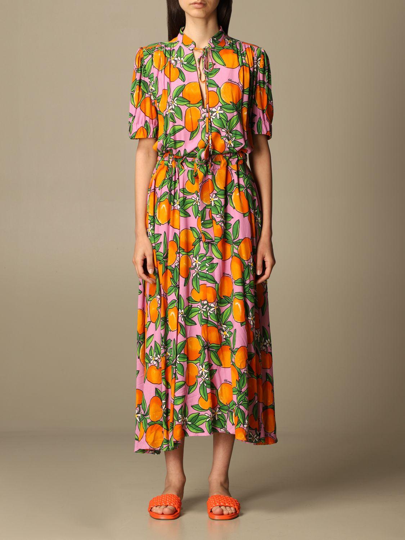 Robes Alessandro Enriquez: Robes femme Alessandro Enriquez orange 1