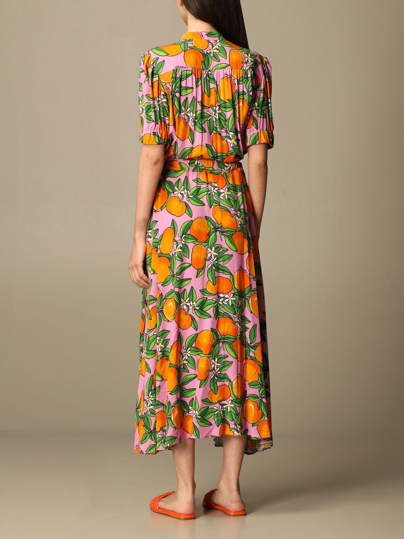 Robes Alessandro Enriquez: Robes femme Alessandro Enriquez orange 2
