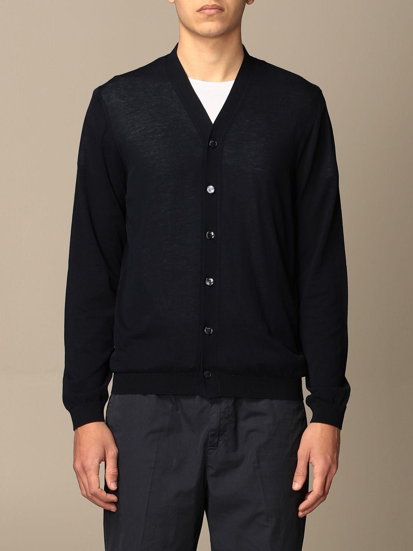 针织开衫 Malo: 毛衣 男士 Malo 蓝色 1