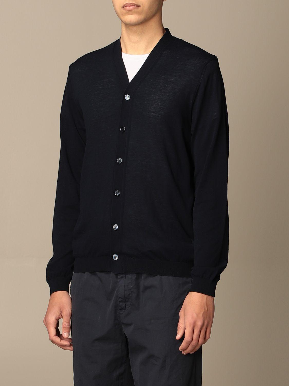 针织开衫 Malo: 毛衣 男士 Malo 蓝色 3