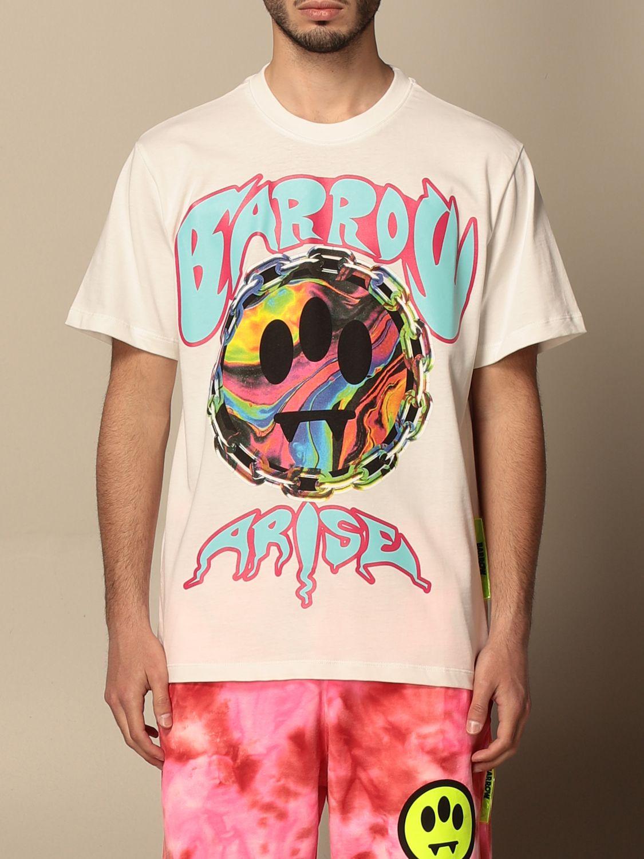 T-shirt Barrow: T-shirt homme Barrow blanc 1