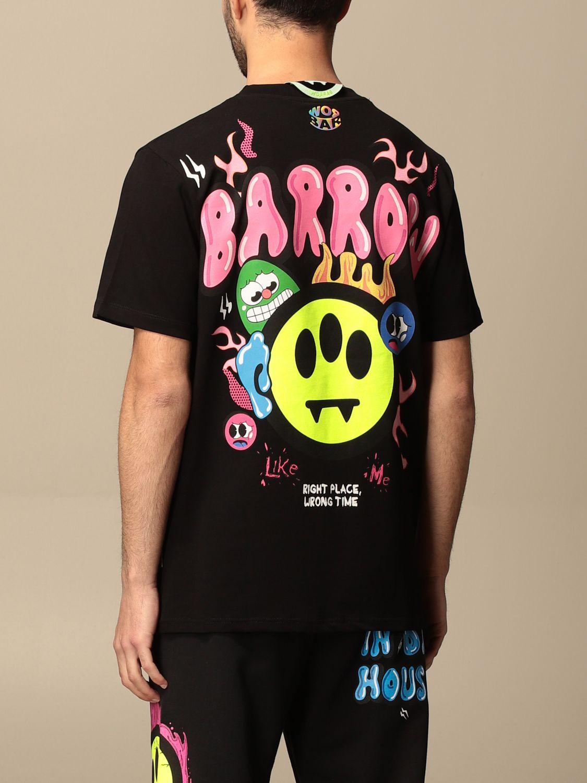 Camiseta Barrow: Camiseta hombre Barrow negro 3