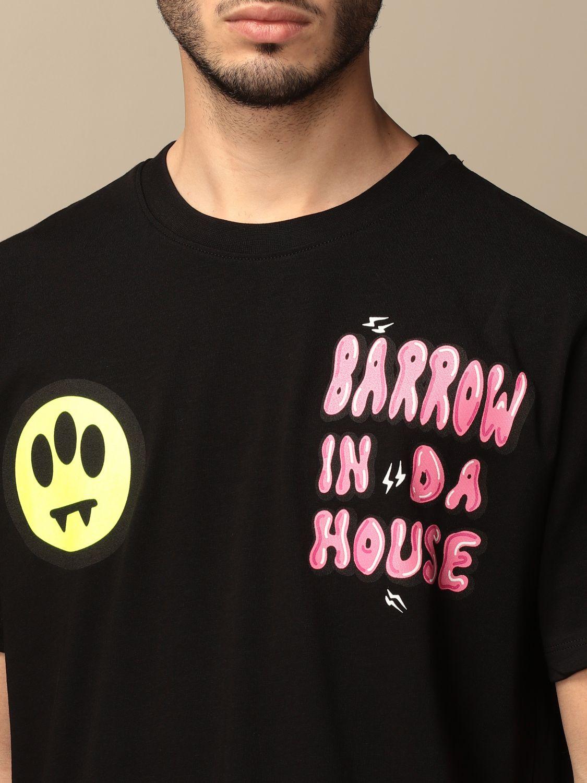 Camiseta Barrow: Camiseta hombre Barrow negro 4