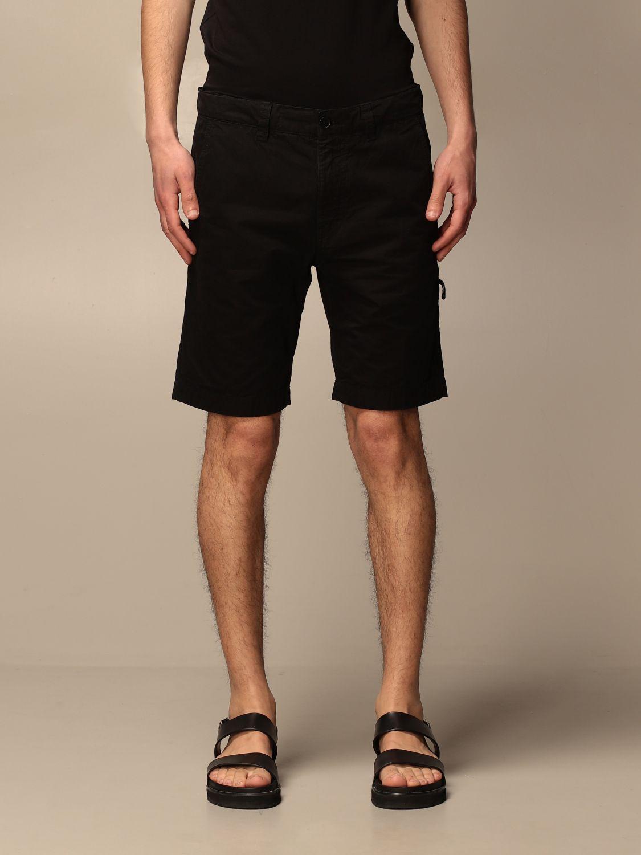 Short Aspesi: Pants men Aspesi black 1