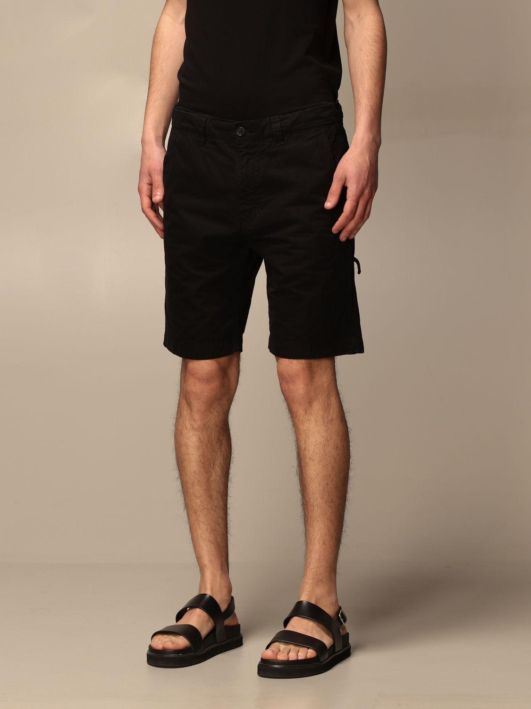 Short Aspesi: Pants men Aspesi black 3