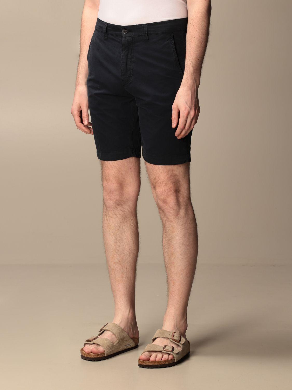 Short Aspesi: Trousers men Aspesi navy 3