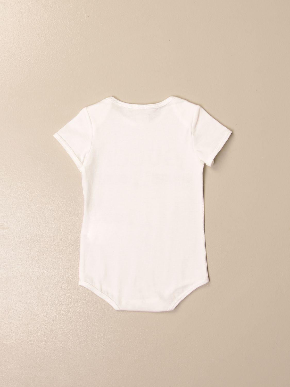 Pack Gucci: Gucci body + bib + beanie set with vintage logo white 2