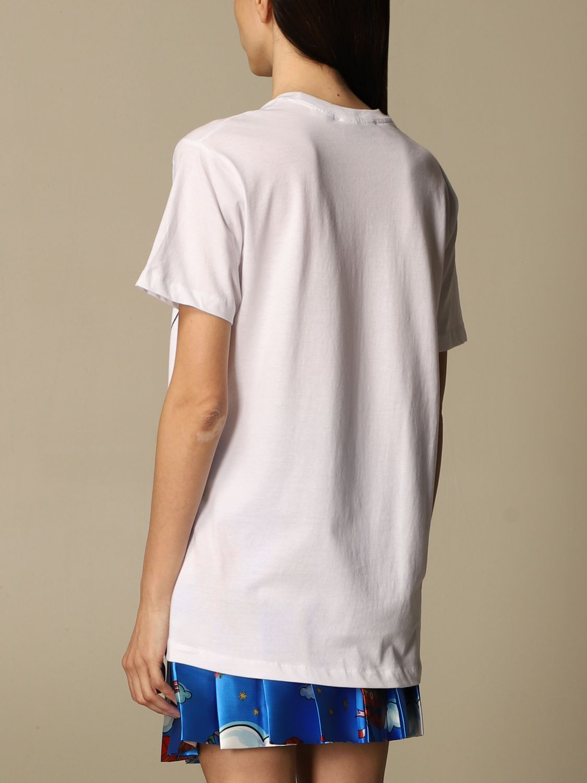 T-shirt Alessandro Enriquez: T-shirt femme Alessandro Enriquez blanc 3
