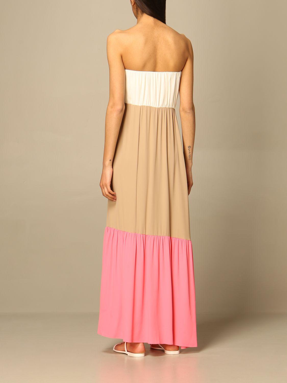 Kleid Semicouture: Kleid damen Semicouture weiß 2