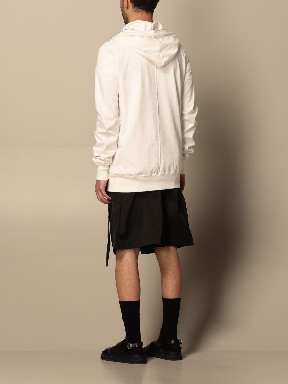 Sweatshirt Drkshdw: Sweatshirt homme Drkshdw blanc 3