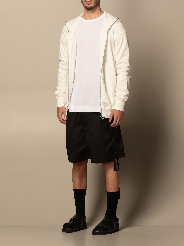 Sweatshirt Drkshdw: Sweatshirt homme Drkshdw blanc 4