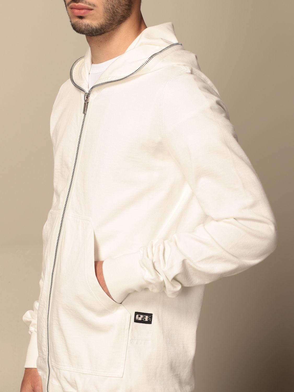 Sweatshirt Drkshdw: Sweatshirt homme Drkshdw blanc 5