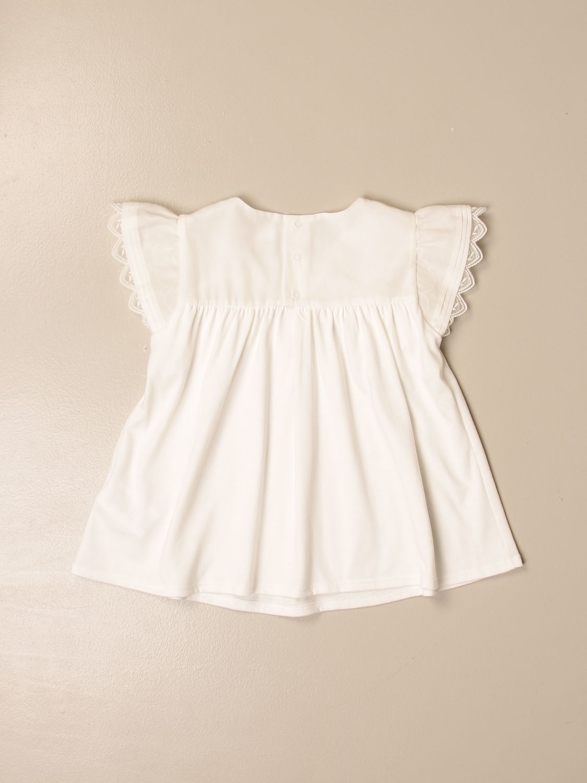 Top Chloé: Top Chloé in cotone bianco 2